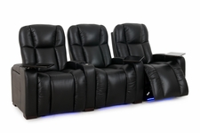 HT Design Hamilton Home Theater Seating Top Grain Leather