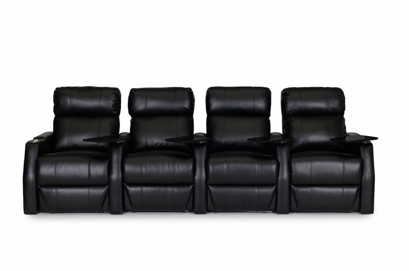 HT Design Paget Theater Seating Manual Recline Black