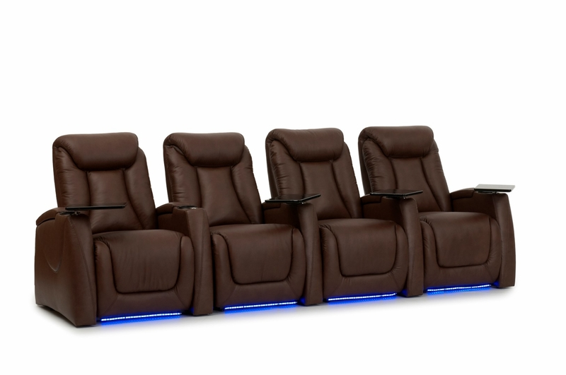 Ht Design Somerset Theater Seating Recline Top Grain Leather