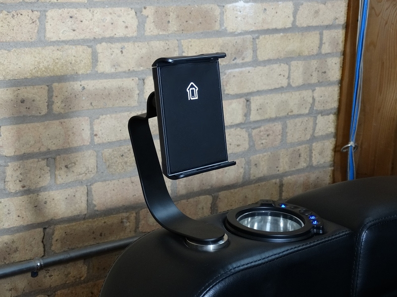ht design theater seating tablet holder