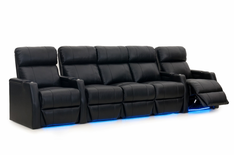 htdesign warwick home theater seating top grain leather. Black Bedroom Furniture Sets. Home Design Ideas