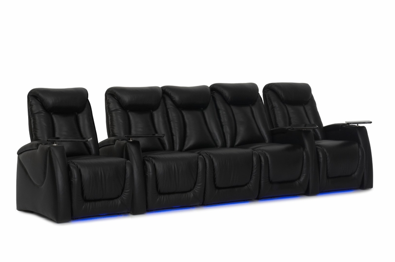 Ht Design Somerset Theater Seating Power Recline Top Grain
