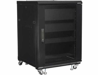 Sanus 15U Rack with Shelves and Blanks