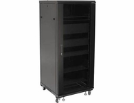 Sanus 27U Rack with Shelves and Blanks