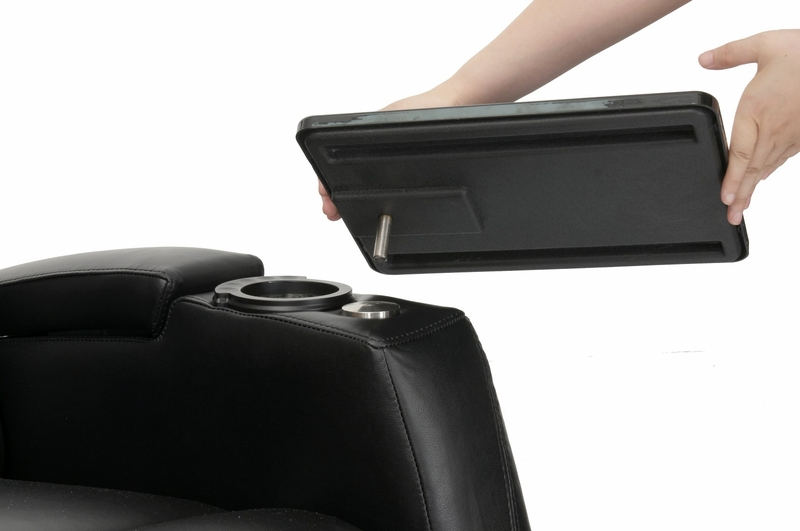 free shipping  sc 1 st  HTmarket.com & HT Design Paget Home Theater Seating Power Recline Black islam-shia.org