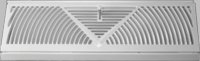 Accord Baseboard Registers and Grilles