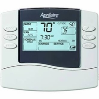 Aprilaire Programmable Thermostat, Model 8465