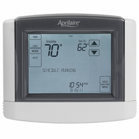 Aprilaire Touchscreen Programmable Thermostat, Model 8600
