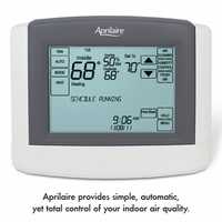 Aprilaire Touchscreen Programmable Thermostat, Model 8620