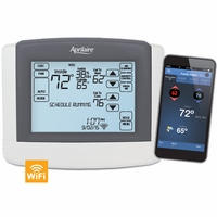 Aprilaire Touchscreen Wi-Fi Programmable Thermostat with IAQ Control, Model 8620W