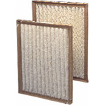"""Cases of 12 Mono Pleat 12"""" x 24"""" x 1"""" Disposable Furnace or Air Conditioner Filter"""