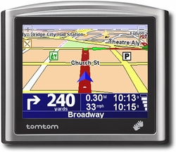 TomTom ONE Portable GPS Navigation System