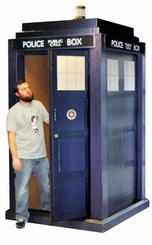 3D Tardis from Doctor Who Cardboard Cutout Life Size Standup
