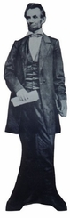 Abraham Lincoln Cardboard Cutout Life Size Standup