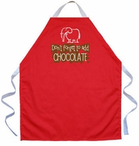 Add Chocolate Kids Apron