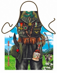 Alpino Mountain Man Funny Novelty  Apron