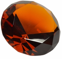 Amber 3.15 Inch Diamond 80mm