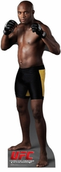 Anderson Silva From UFC Cardboard Cutout Life Size Standup