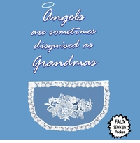 Angels Are Grandmas Apron