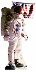 Astronaut Man on the Moon Cardboard Cutout Life Size Standup