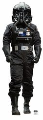Atmospheric TIE Pilot Rogue One: Cardboard Cutout Life Size Standup