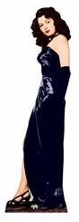 Ava Gardner Black Dress Cardboard Cutout Life Size Standup