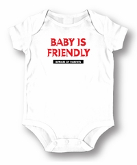 Baby Is Friendly  Baby  Romper/Onesie