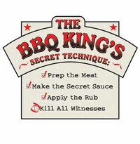 BBQ King Recipe Apron