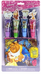 Beauty and The Beast Lip Gloss w/ Pouch