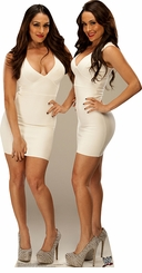 Bella Twins from WWE Cardboard Cutout Life Size Standup