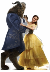 Belle and the Beast (Disney�s Beauty and the Beast) Cardboard Cutout Life Size Standup