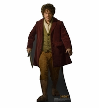 Bilbo from The Hobbit The Desolation of Smaug Cardboard Cutout Life Size Standup