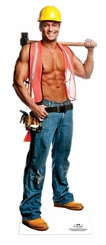 Billy Construction Chippendale Cardboard Cutout Life Size Standup