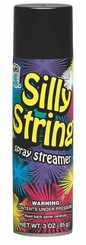 Black Silly String 3oz Can Made in the USA