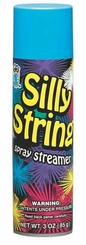 Blue Silly String 3oz Can Made in the USA