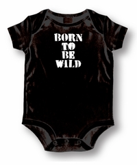 Born To Be Wild Attitude Romper /Onesie