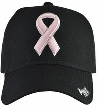 Breast Cancer Awareness - Black Baseball Hat