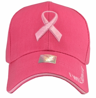 Breast Cancer Awareness - I Will Survive Hot Pink Baseball Hat - Click to enlarge