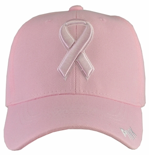 Breast Cancer Awareness - Pink Baseball Hat - Click to enlarge
