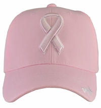 Breast Cancer Awareness - Pink Baseball Hat