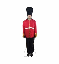 British Royal Guard Cardboard Cutout Life Size Standup
