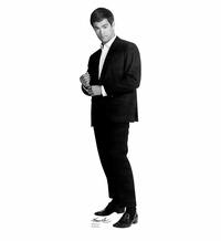 Bruce Lee Suit Cardboard Cutout Life Size Standup