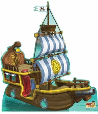 Bucky Pirate Ship from Jake and The Neverland Pirates Cardboard Cutout Life Size Standup