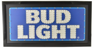 Bud Light LED Wall Sign - Click to enlarge