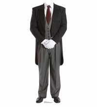 Butler Stand-in Cardboard Cutout Life Size Standup