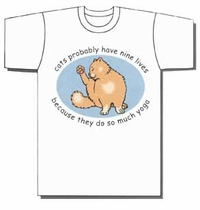 Cats Probably Have Nine Lives Because They Do So Much Yoga t-shirt