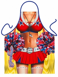 Cheerleader Funny Novelty Apron