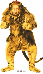 Cowardly Lion - 75th Anniversary The Wizard of Oz Cardboard Cutout Life Size Standup