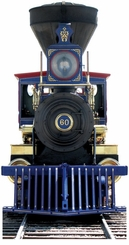 CP 60 Jupiter Train Cardboard Cutout Life Size Standup