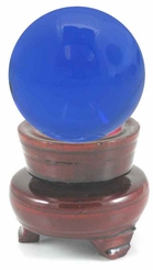 "Crystal Ball Shaped Paperweight, 3.15"" Wide (80mm)"